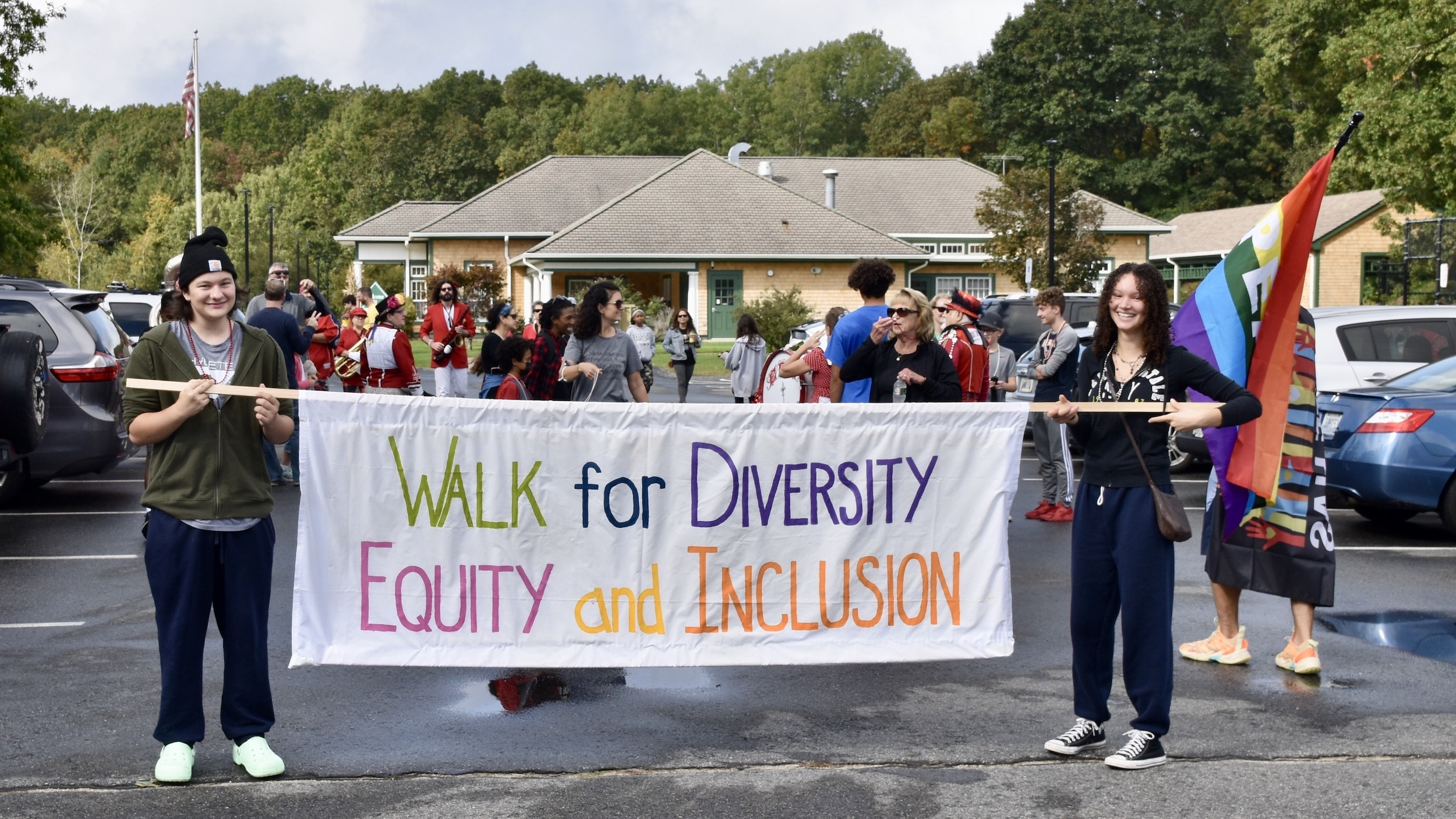 Photo for Smithfield's Walk for Diversity, Equity and Inclusion
